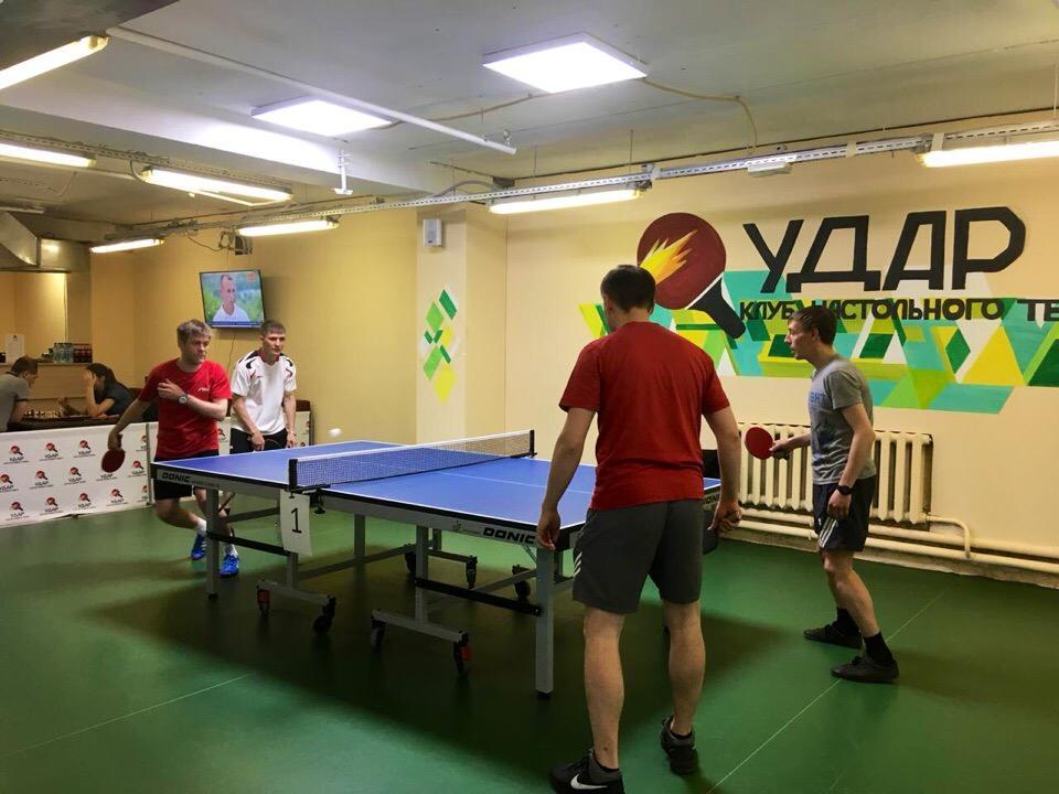 турнир по настольному теннису в Екатеринбурге